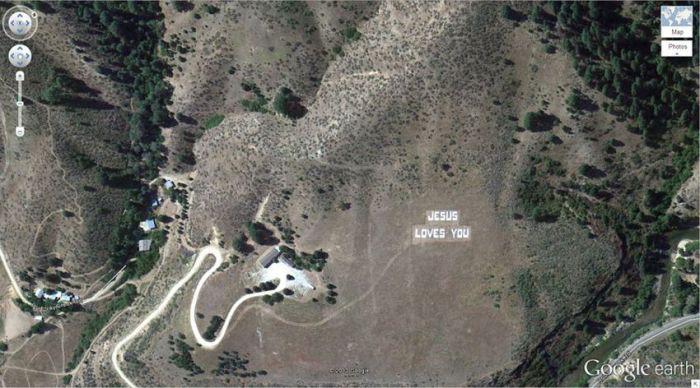 Национальный лес Бойсе, Бойсе, Айдахо, США google, снимки, спутник