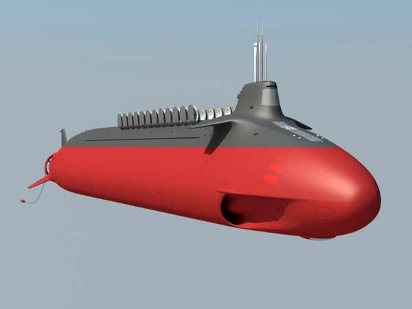 Китай разработал подводную лодку четвертого поколения Type-098