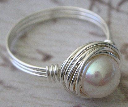 Самодельное кольцо из проволоки
