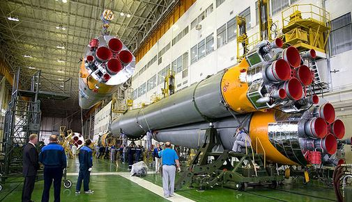 Очередная катастрофа в России: Рухнул космический корабль!!!