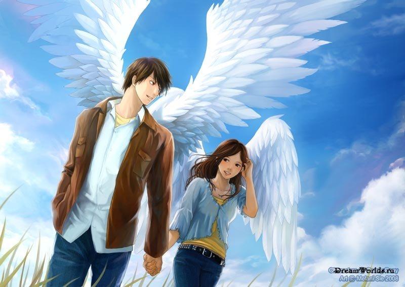 Юноша и Ангел. Притча