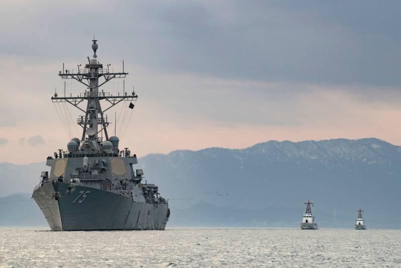 США меняют радары на эсминцах на фоне риска снижения электробезопасности