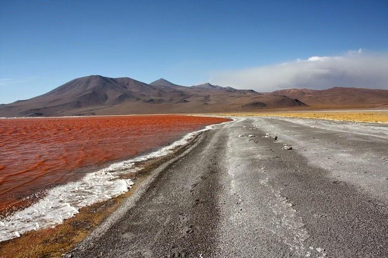 LagunaColorada07 Кровавая лагуна в Боливии