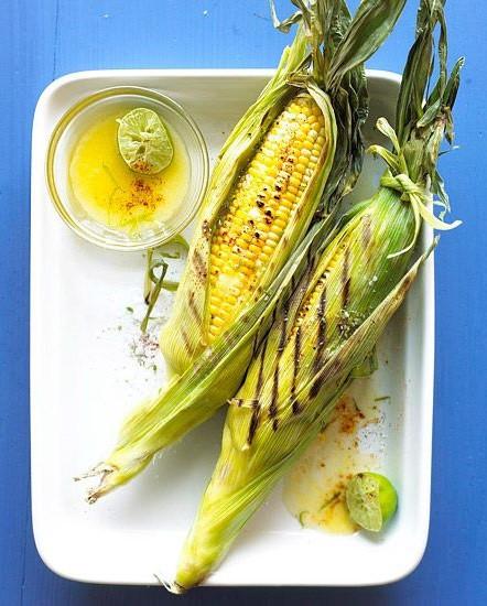 Кукуруза с острым маслом вкусно, кукуруза, рецепт