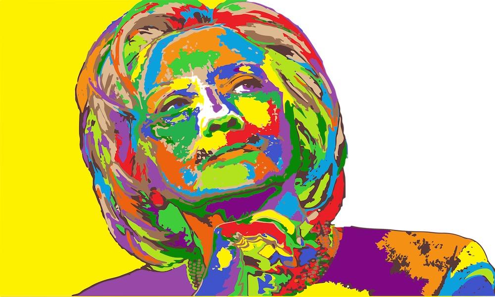 Путин и Trump: Беги, Хиллари, беги
