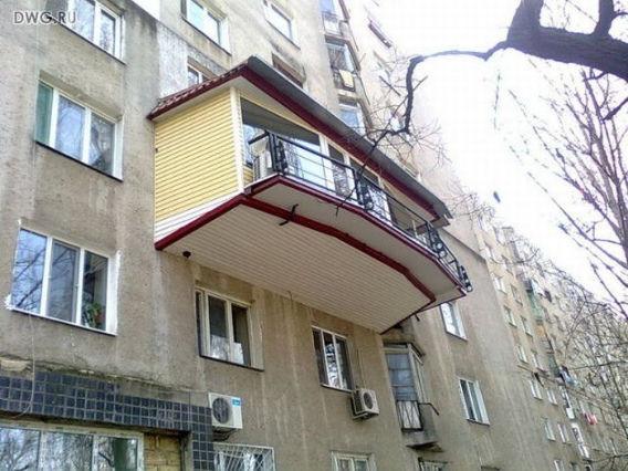12. Балкон на балконе балкон, дизайн, креатив