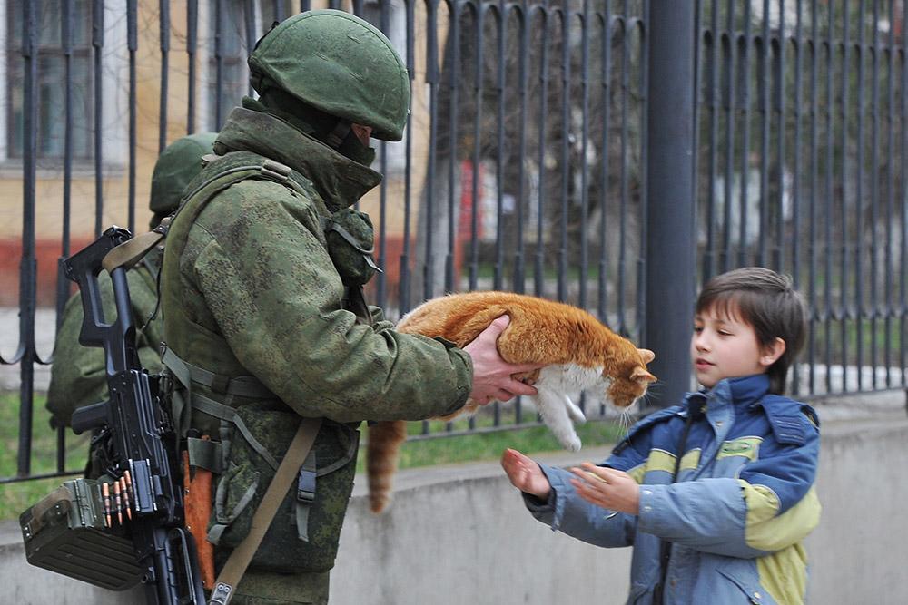 Русские оккупанты...