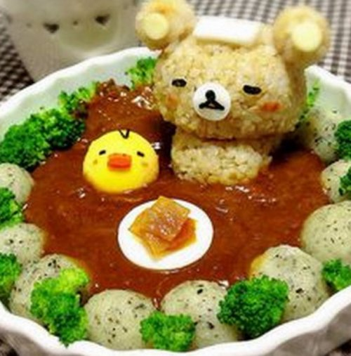 Блюда и десерты в виде медве…