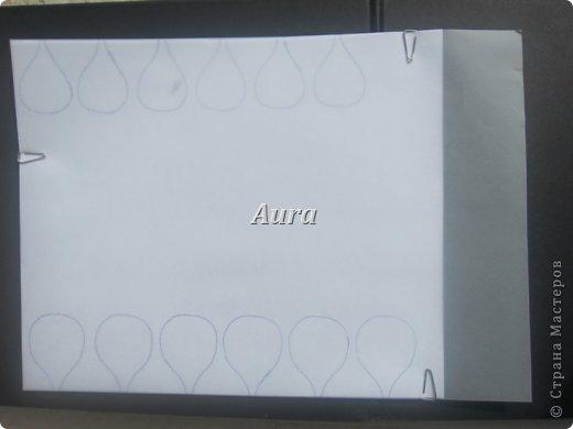 Мастер-класс Квиллинг Квиллинг на кальке MK анемоны Бумага Бумажные полосы фото 2