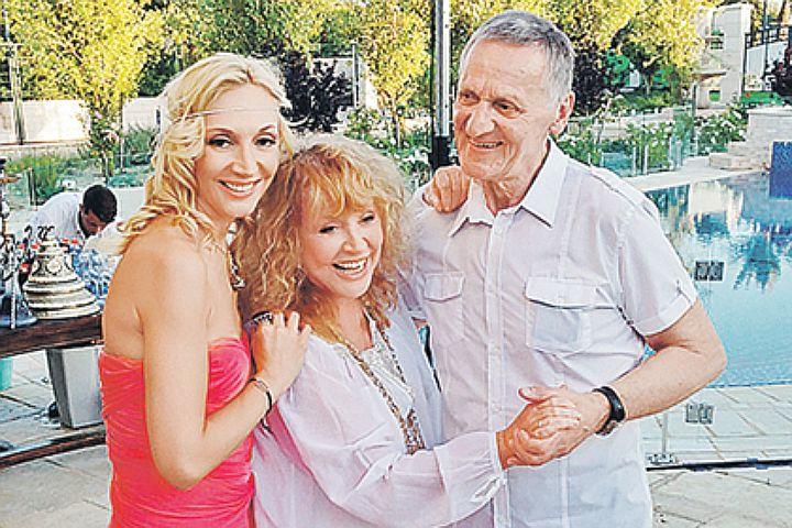 Первый  муж Пугачевой Миколас Орбакас: «Двойняшки подарили Алле вторую молодость!»