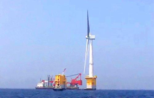 Плавающий ветрогенератор