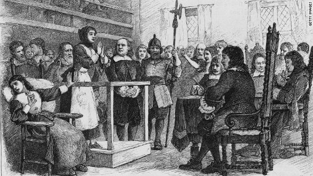 a history of the witch hunting hysteria in salem massachusetts