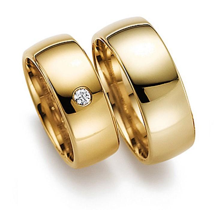 золотые обручальные кольца  женские