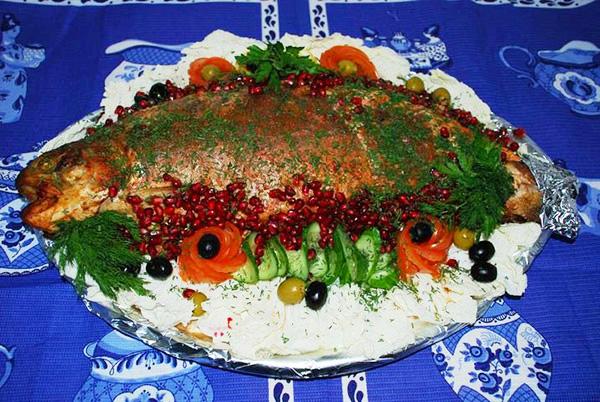 Форель, запеченная целиком в фольге по рецепту Свято-Троицкой Сергиевой Лавры
