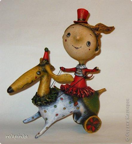 Куклы из папье-маше своими руками мастер класс фото