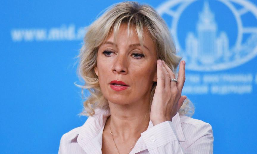 Мария Захарова: Порошенко ошибся дверью не позавчера