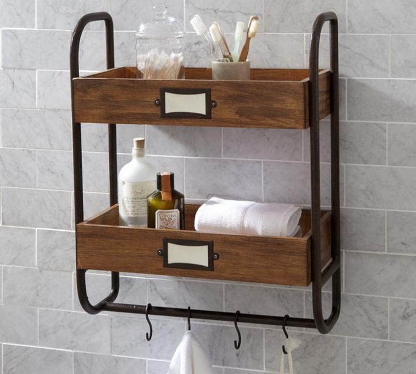 Полочка для ванной комнаты своими руками фото