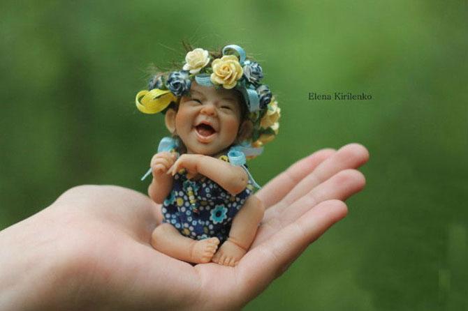 25 безмерно симпатичных авторских кукол из запекаемого пластика