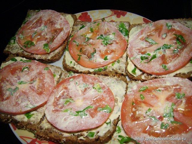 Пошаговый рецепт приготовления бутербродов без колбасы и сыра