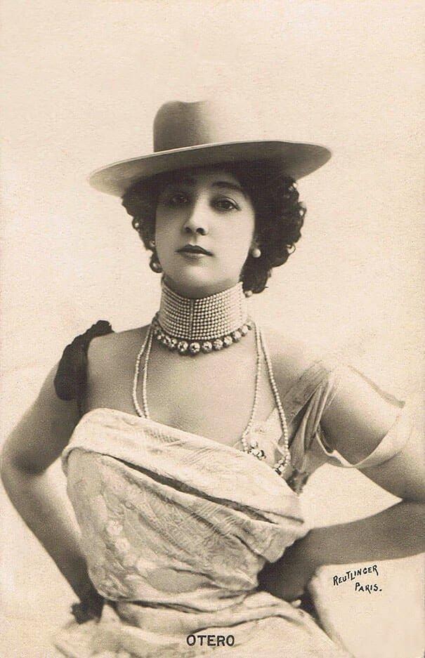 Прекрасная Отеро (Каролина Отеро) 20 век, красота, фото
