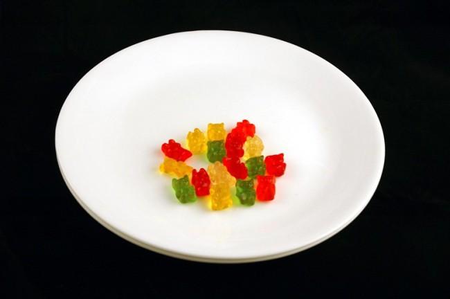 Желейные мишки — 51 г диета, еда, калории