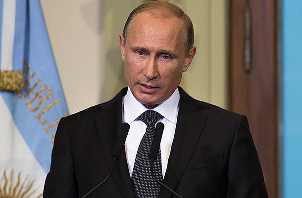 Речь В.В. Путина в Лас-Вегасе 31 декабря 2052 года.