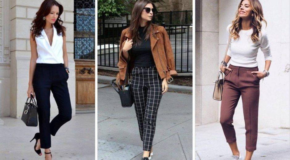Модный тренд 2018: брюки — сигареты