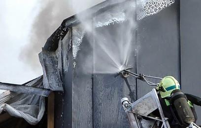 Пожар в Доме педагогической книги в Москве потушили