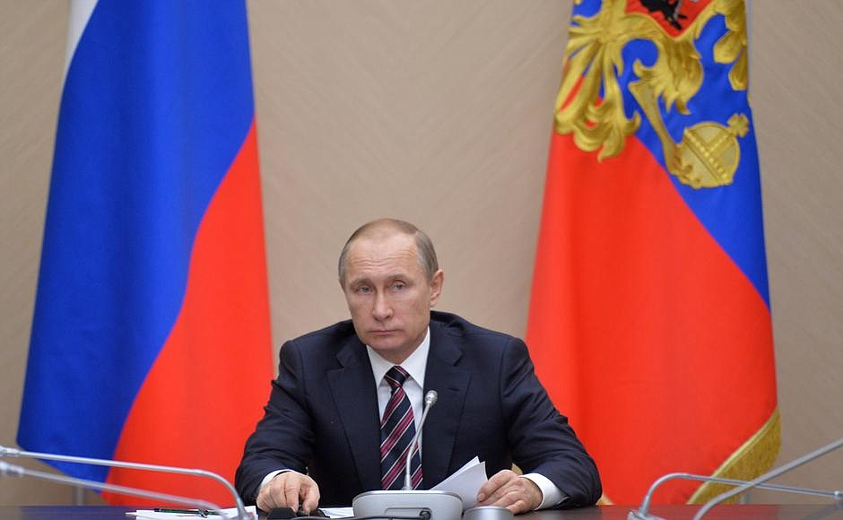 Совещание с членами Правительства. Новости 13 января, среда.