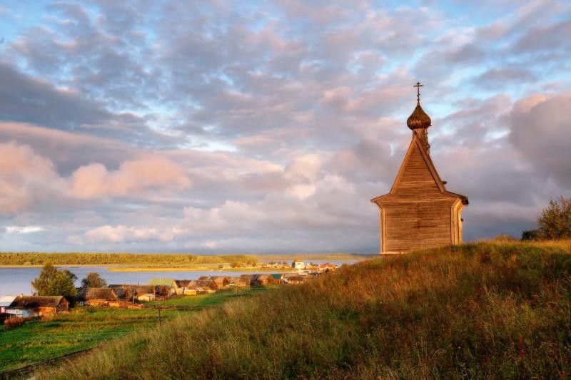 6. Вершинино, Архангельская область деревни, россия, съела, это красиво