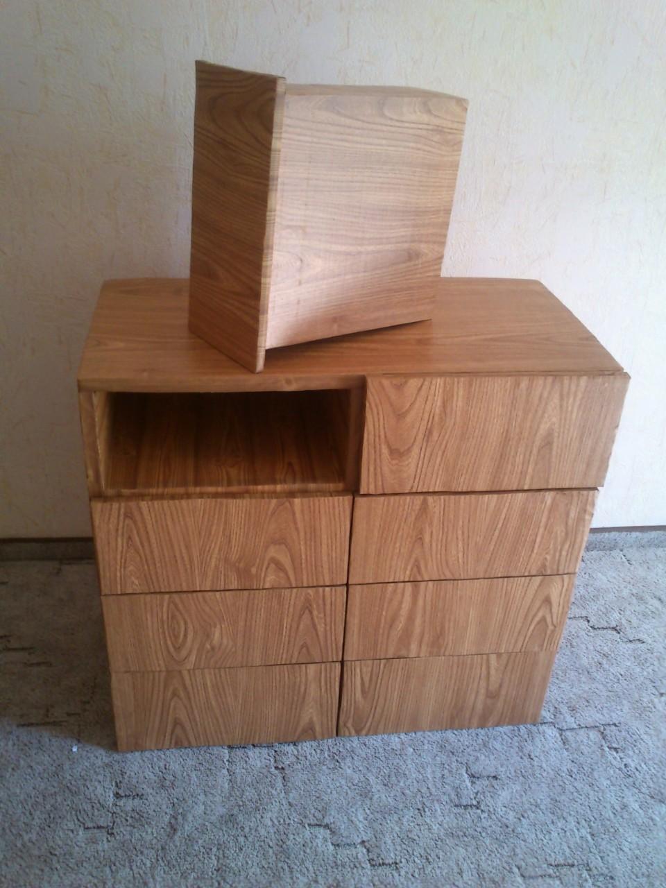 Как сделать комод из картона своими руками? 60