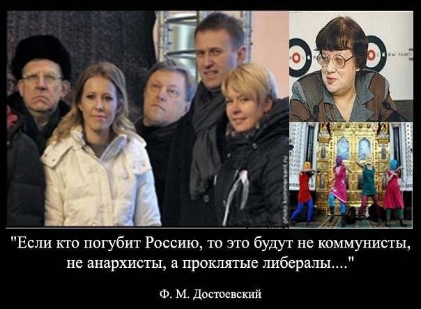 Оппозиция грызет Россию