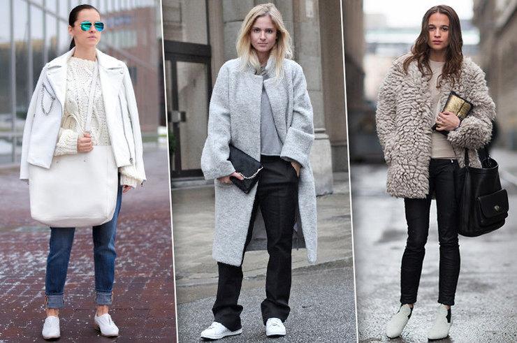 Белая обувь зимой — носить или не носить?