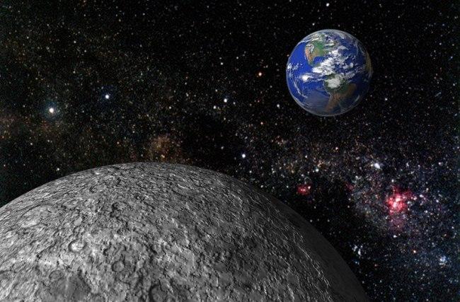 Астрономы признали, что Луна создана из того же, что и Земля