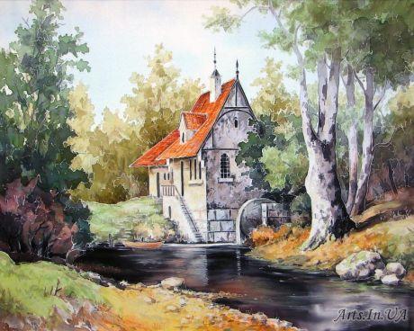 Ярмин  Василий - Водяная мельница