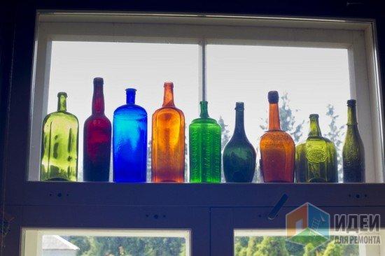 Декоративное стекло, декор своими руками