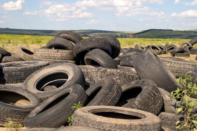 Куда деть старые шины?
