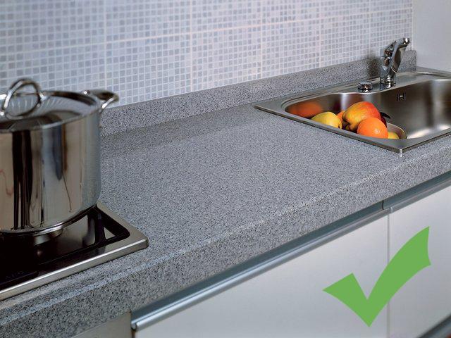 Правильная рабочая поверхность для кухни