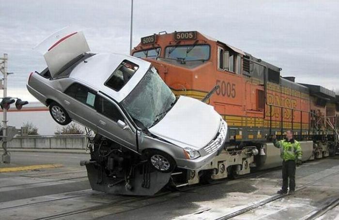 Самые странные аварии