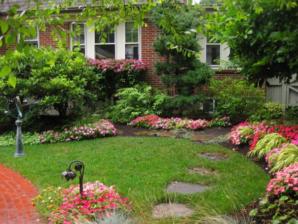 Красивые сады и дачи фото своими руками