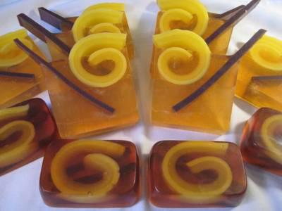 Оригинальный рецепт мыла из основы: «Яблочный сидр»