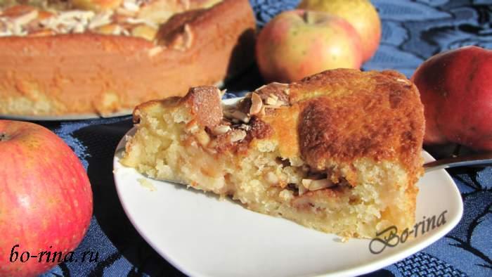 Десертный вихрь. Пироги с яблоками. Шведский бисквит с яблоками
