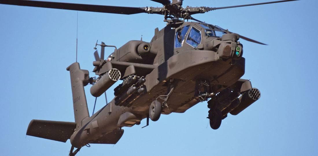 Сaнкционирована поставка Индии еще шести вертолетов АН-64Е Apache