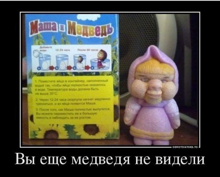 Игрушки, которые растут в воде вода, дети, игрушка, медведь