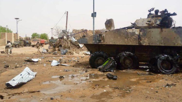 Нападение на французов в Мали