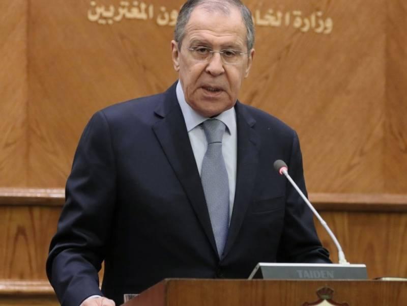 Лавров потребовал от американцев уйти из Сирии