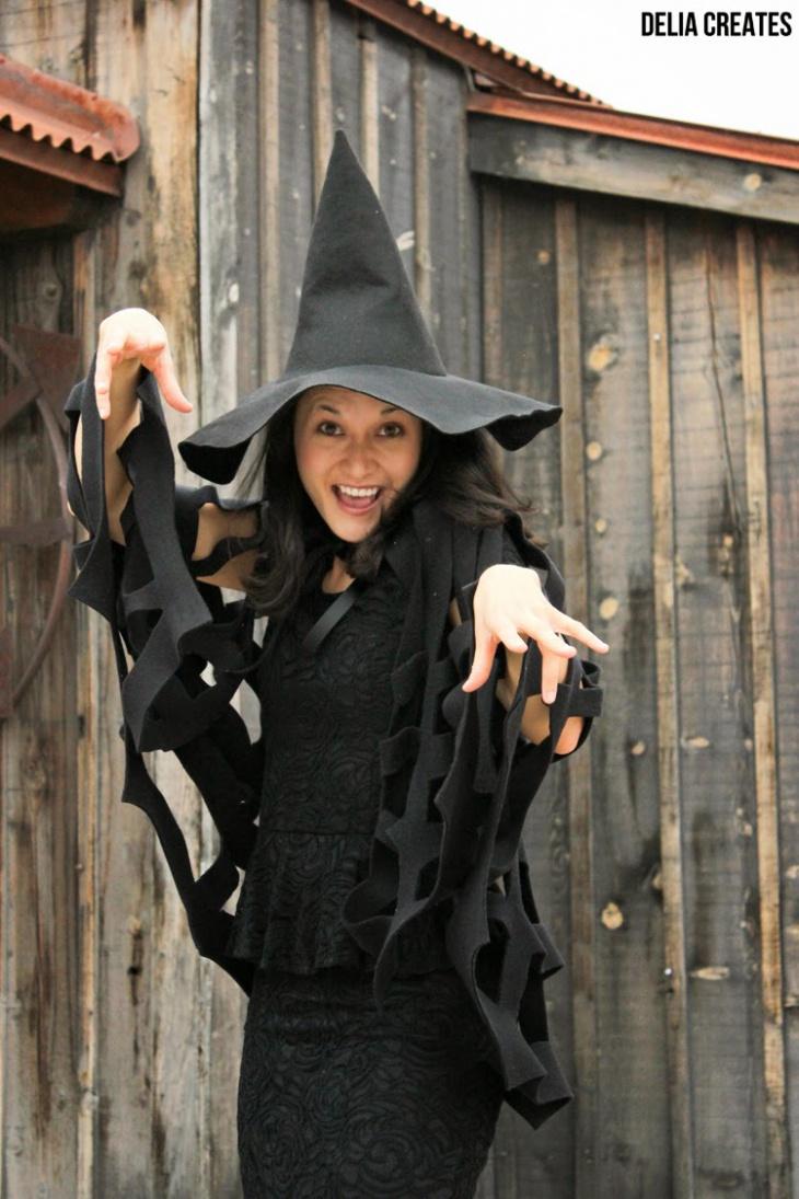 Костюм на Хэллоуин который не надо шить (Diy)