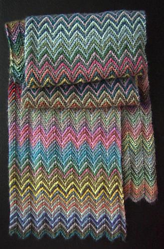 Очень красивый и простой шарф