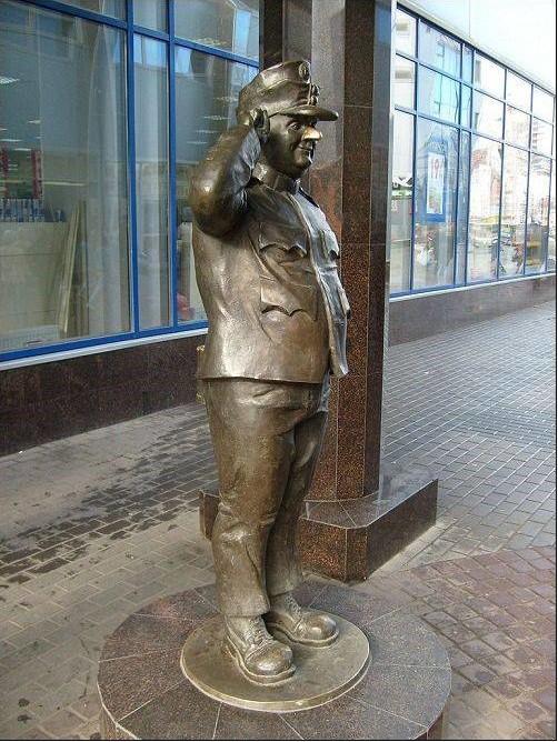 Памятник бравому солдату Швейку. Санкт-Петербург Прикольные памятники, факты