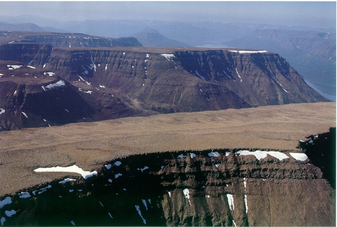 Плато Путорана - затерянный мир в Сибири размером с Англию